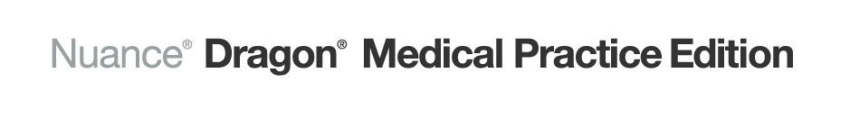 Nuance® Dragon® Medical Practice Edition Logo