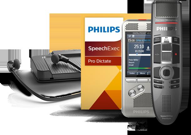 Philips Diktiergeräte